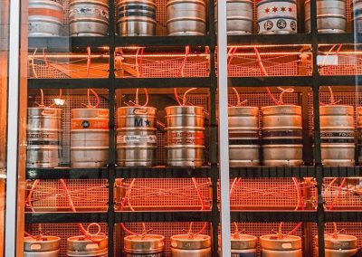 Fatpour Keg Wall