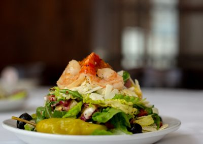 Victory Tap - Shrimp Salad